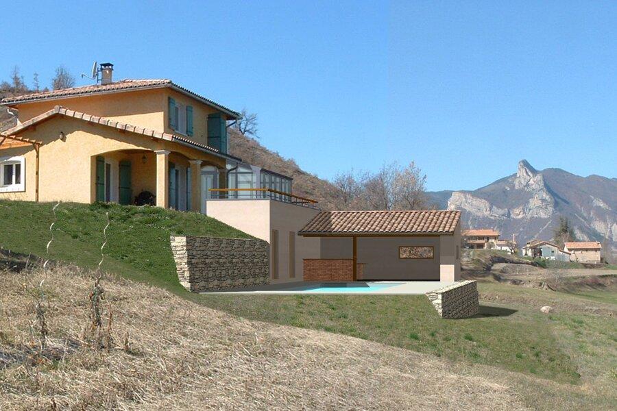 Projet Curbans réalisé par un architecte Archidvisor