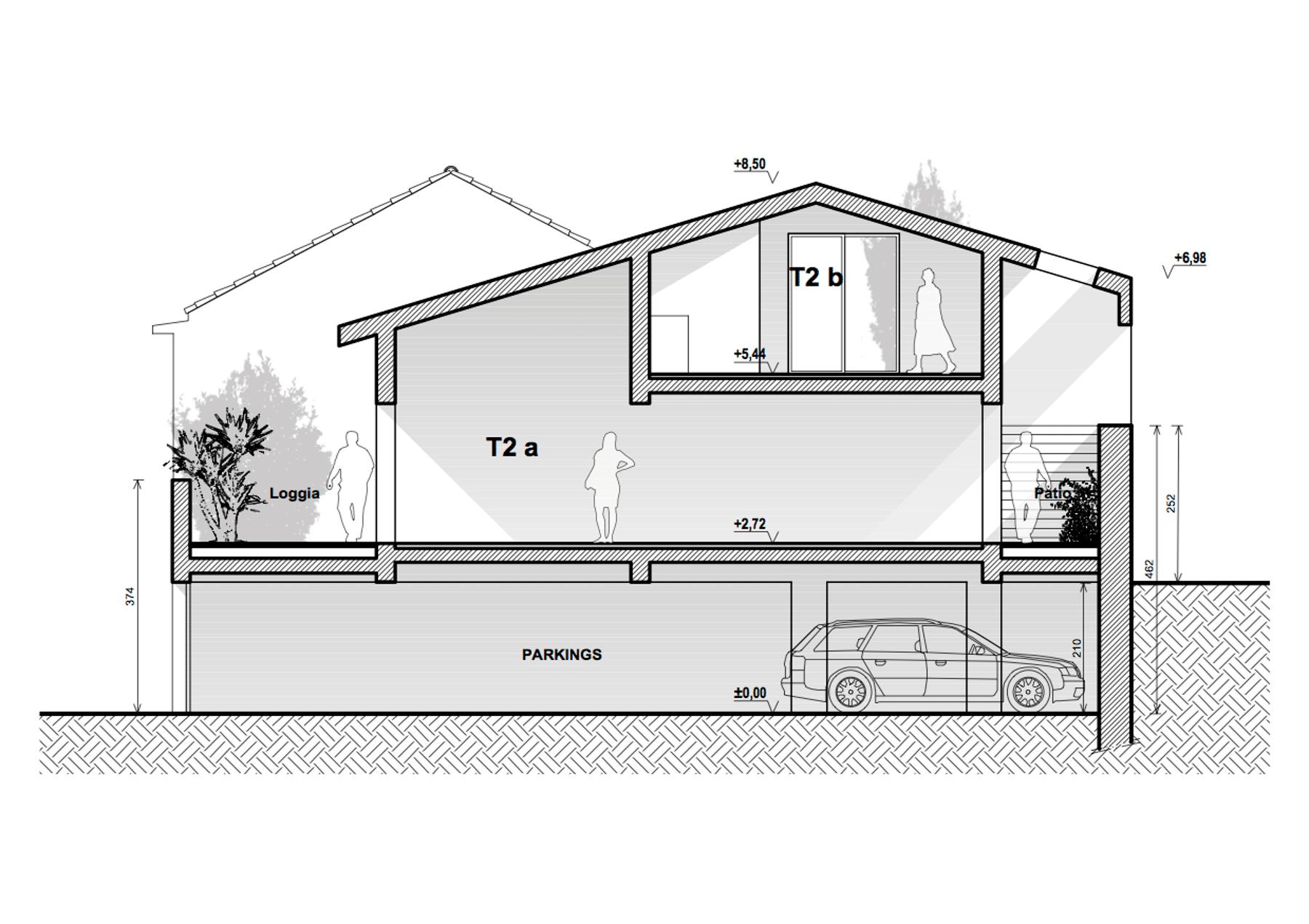 Réhabilitation hangar en logements