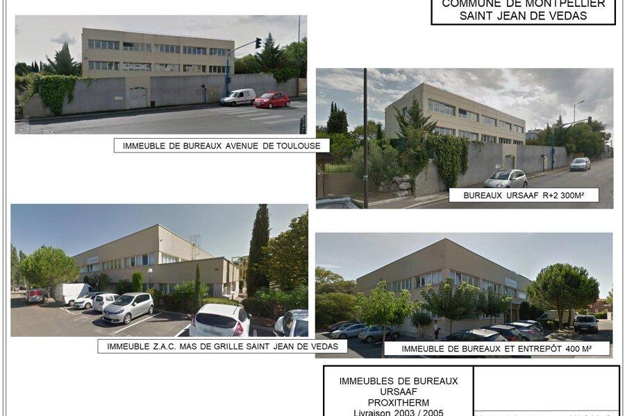 Construction de bureaux et entrepôts