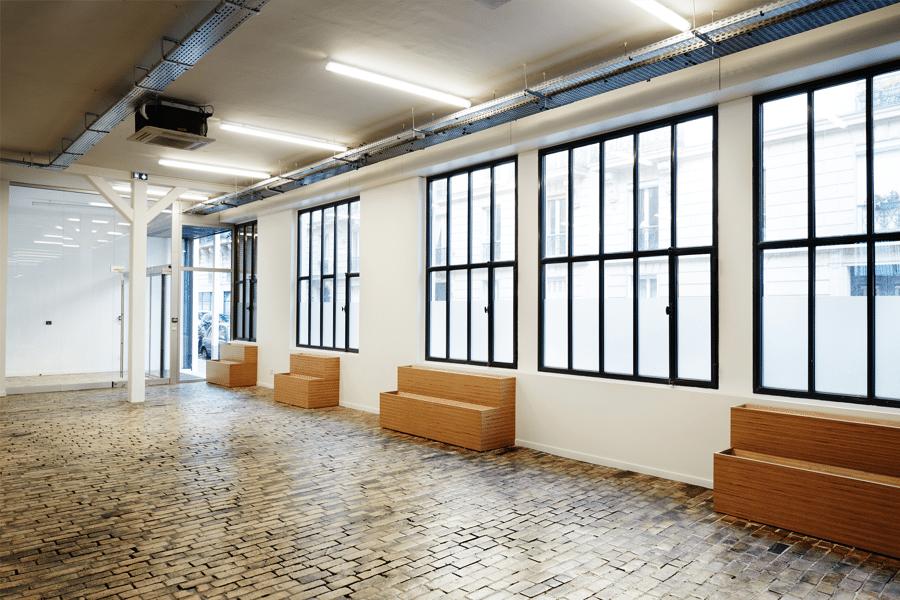 Réhabilitation d'un immeuble de bureau