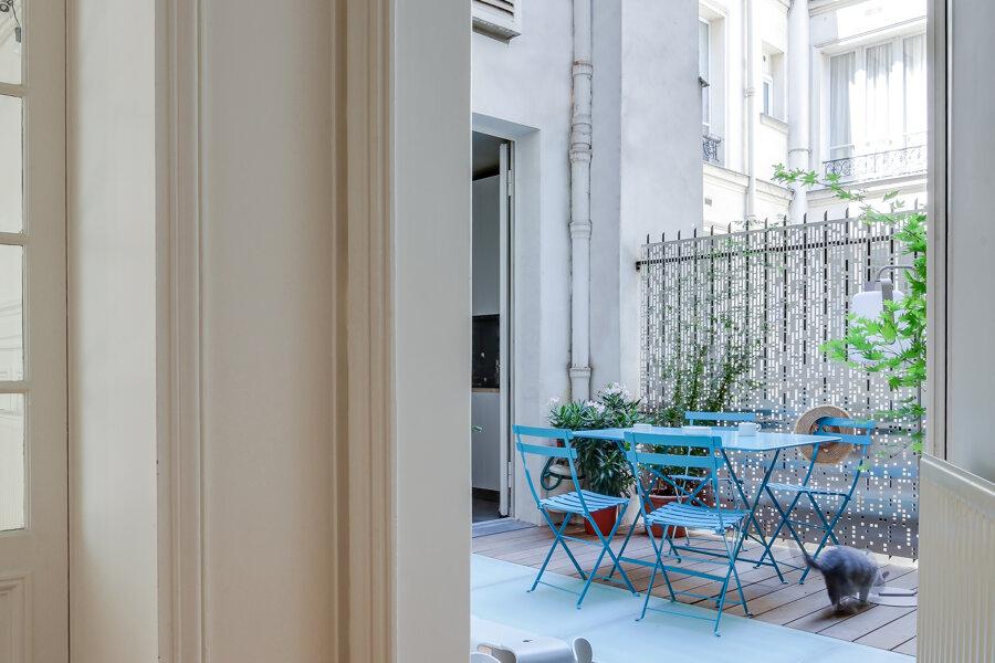V08 - création d'une terrasse - paris 8