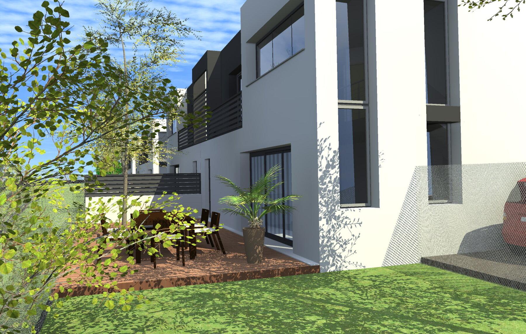 construction maisons accolées