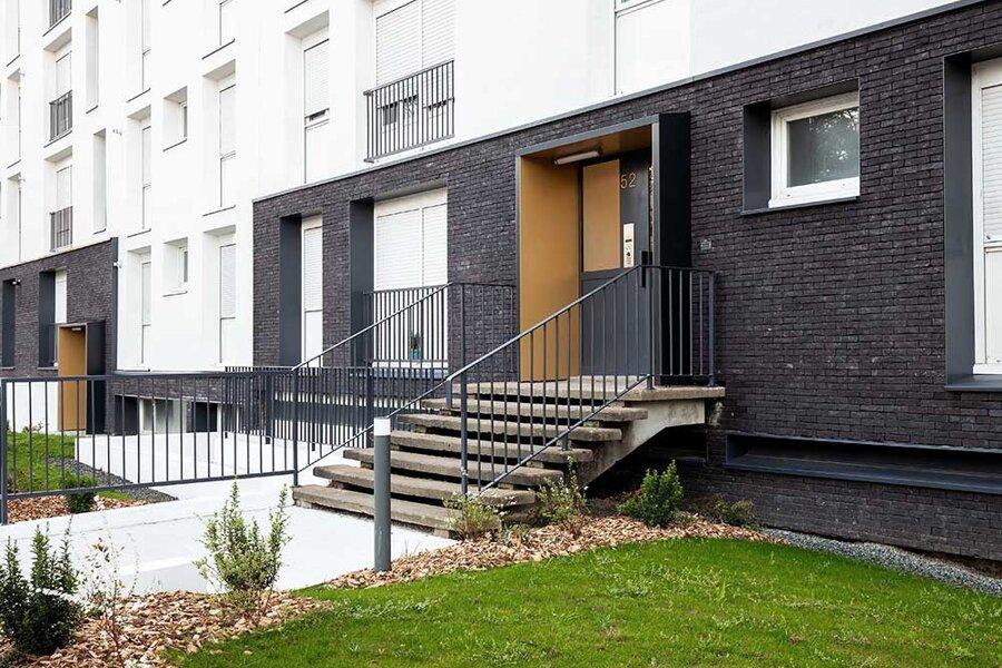 30 logements neufs et75 logements réhabilités à Nantes