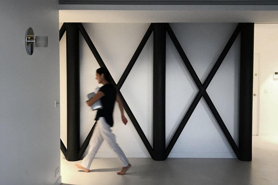 Projet L13 - restructuration - réunion de 2 appartements - tour Albert paris 13 réalisé par un architecte Archidvisor