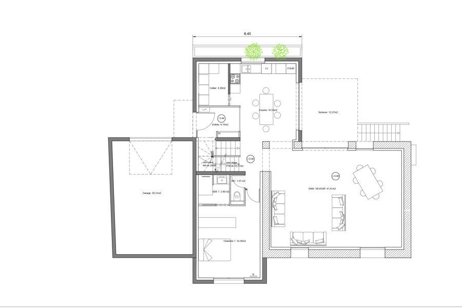 extension + rénovation maison année 30