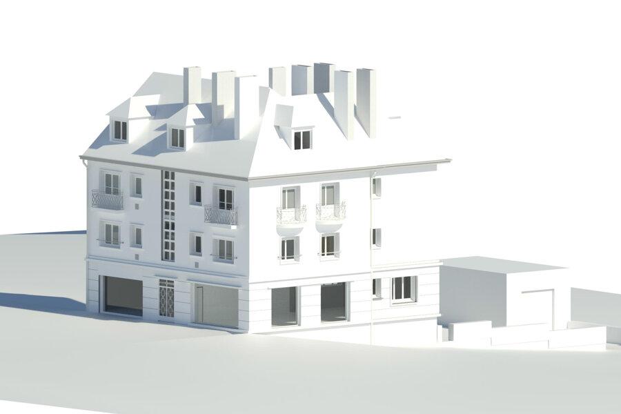 réhabilitation d'un immeuble d'habitation