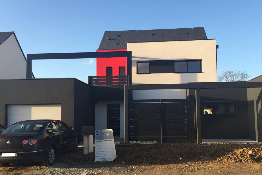 Maison neuve G+G