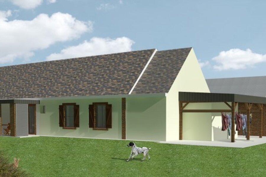 Rénovation et extension d'un corps de ferme