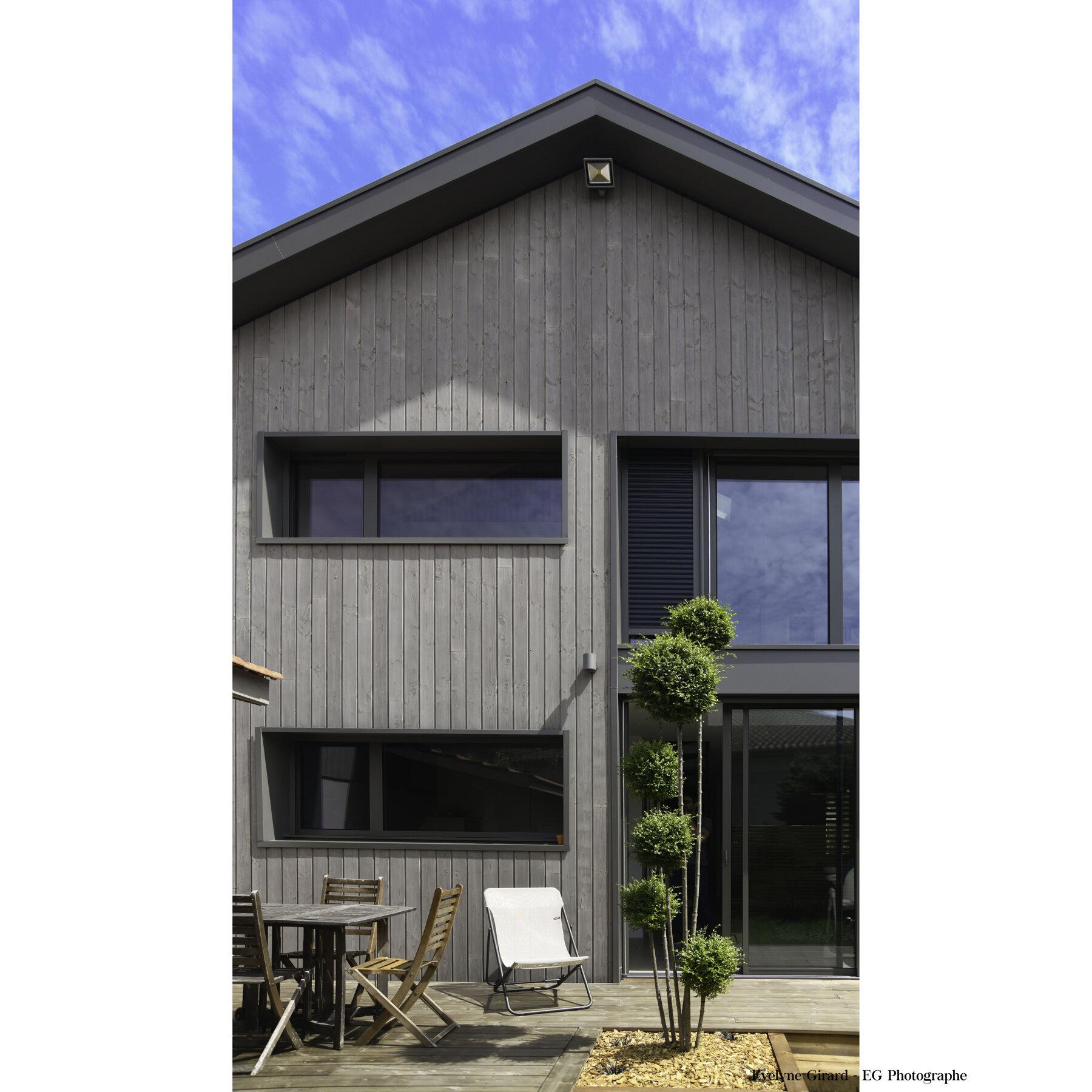 Transformation d'une maison à Talence
