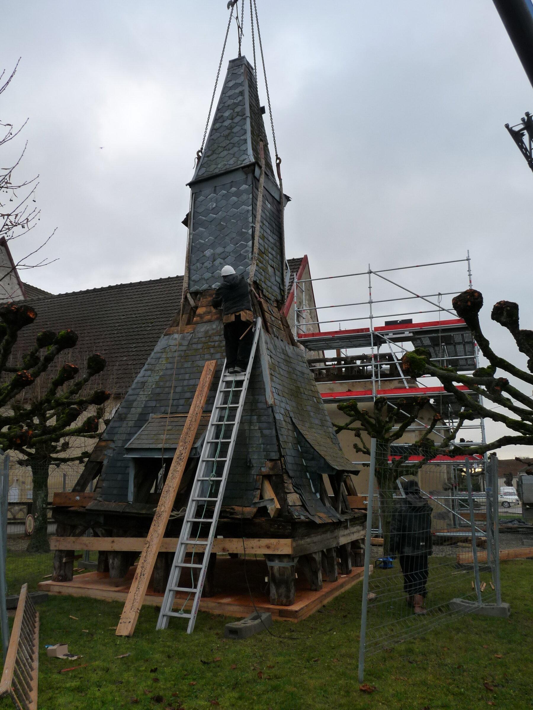 RESTAURATION DU CLOCHER DE L'EGLISE