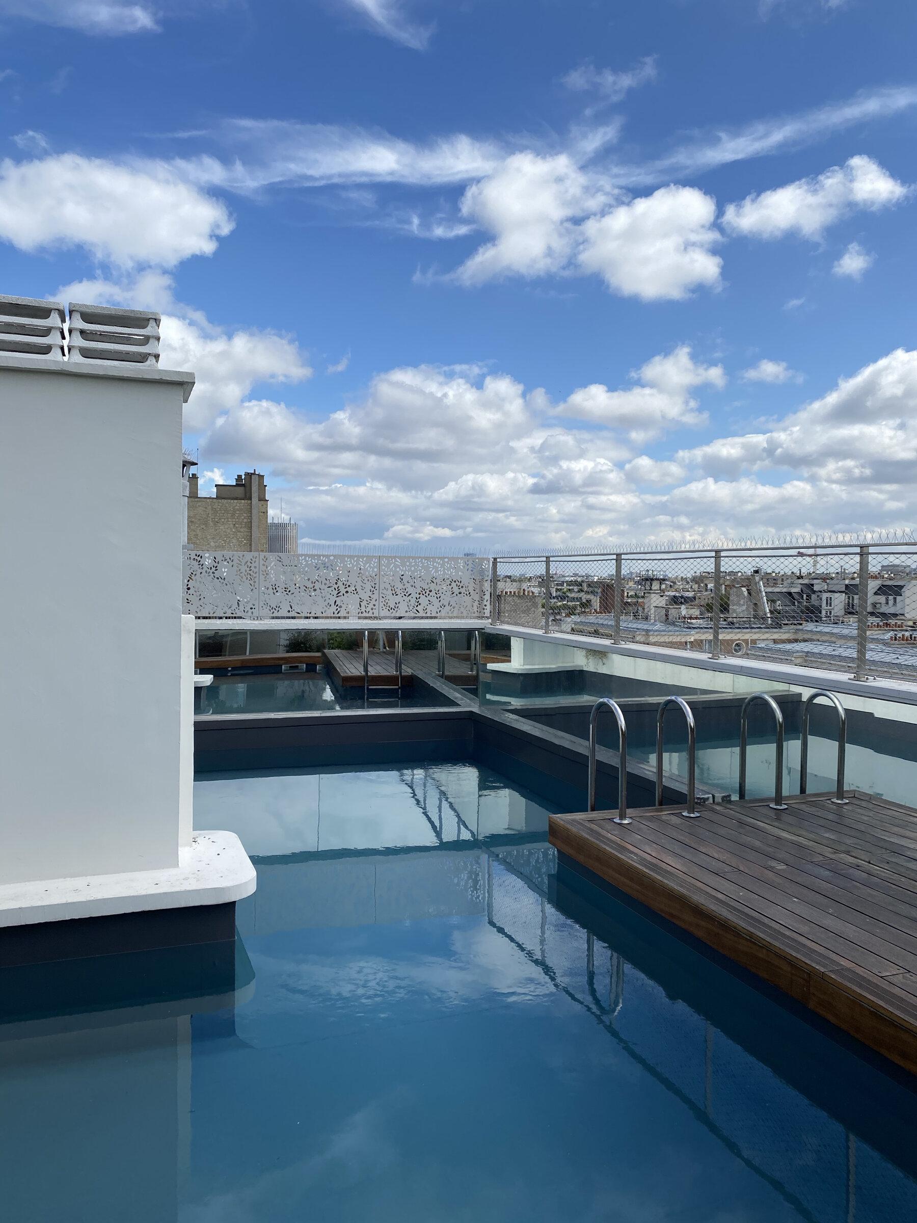 D16 - Duplex avec piscine - travaux intérieurs, piscine et création terrasse rooftop - paris 16
