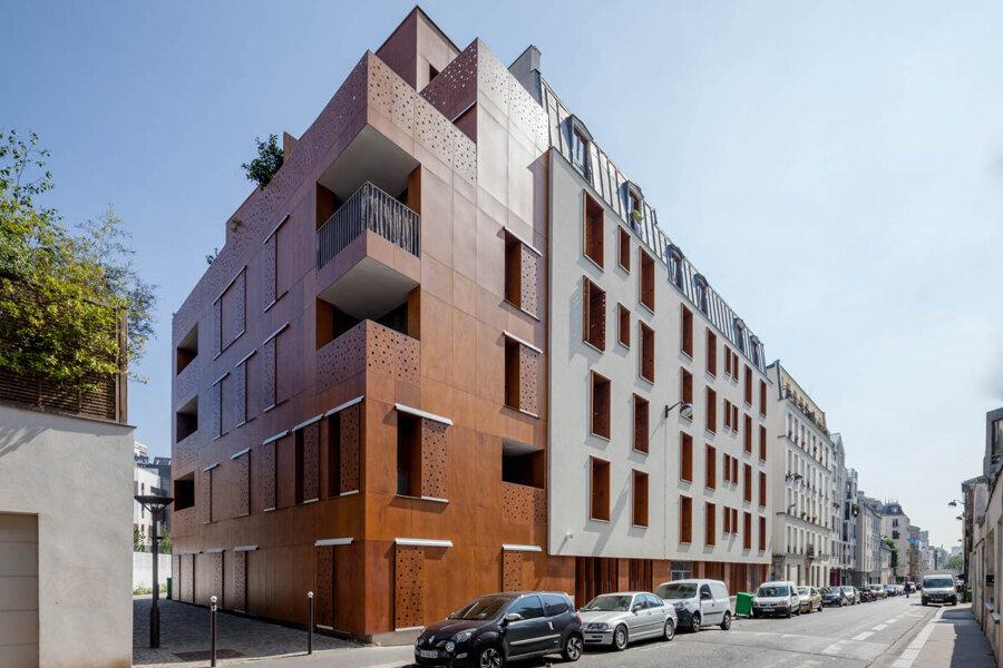 Collectif de 21 logements à Paris 20e