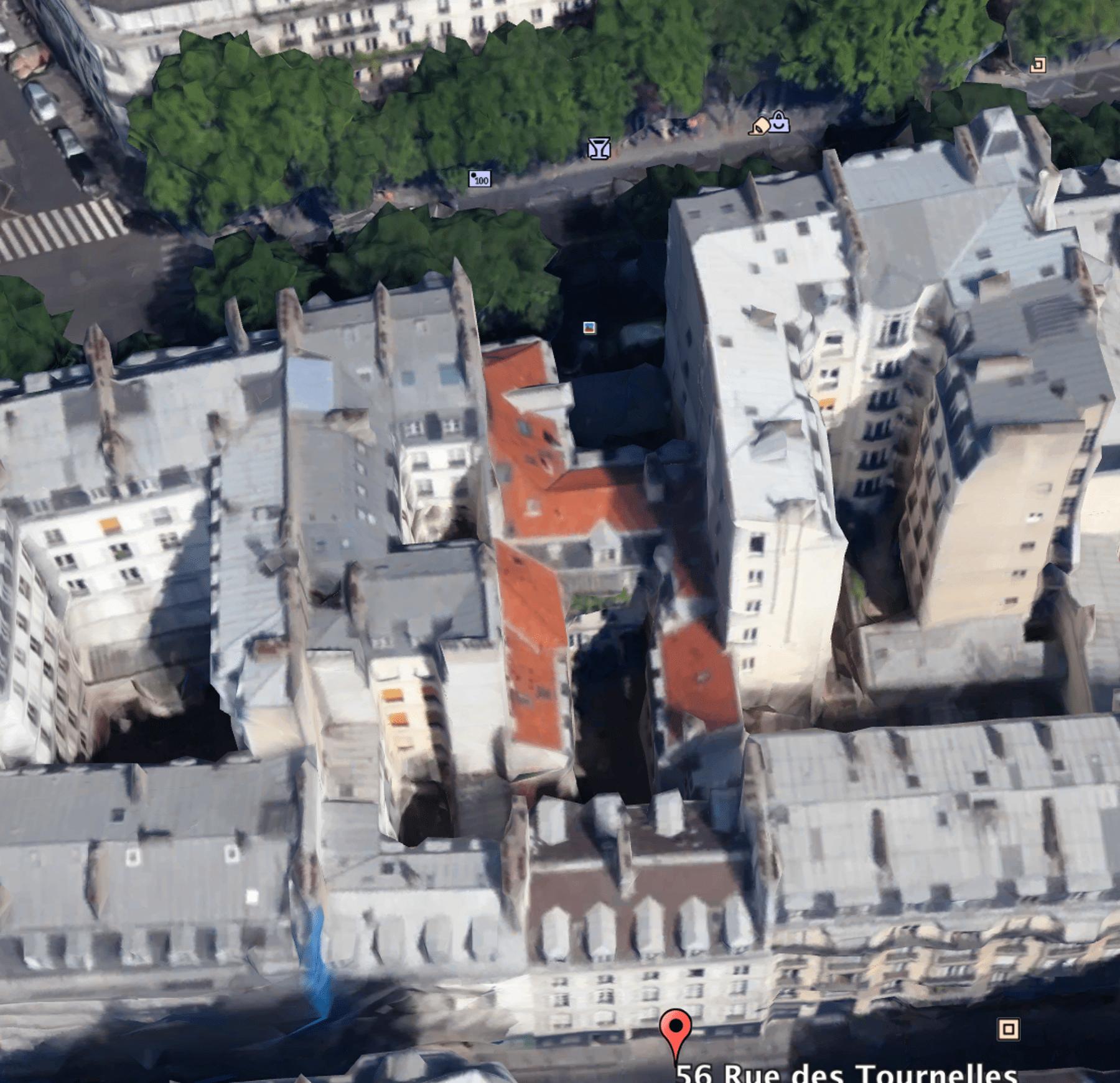 Rénovation d'un immeuble ancien dans le Marais