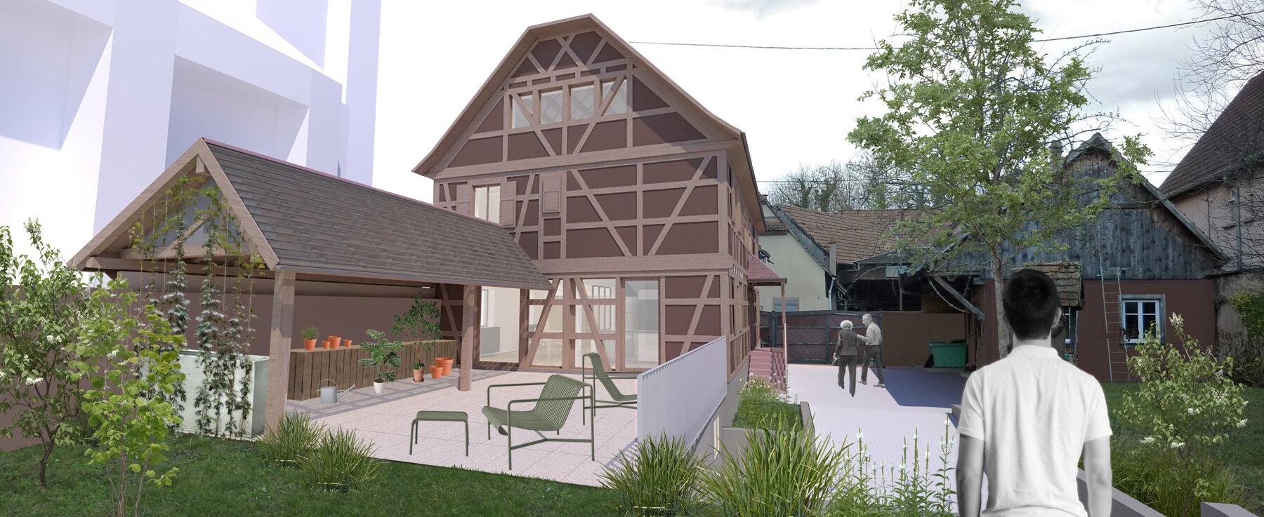 Rénover Une Maison Alsacienne ᐅ rénovation à niedernai ≡ réhabilitation d'une maison