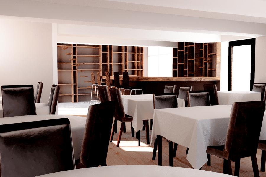 Projet d'aménagement du restaurant SAM & LIE