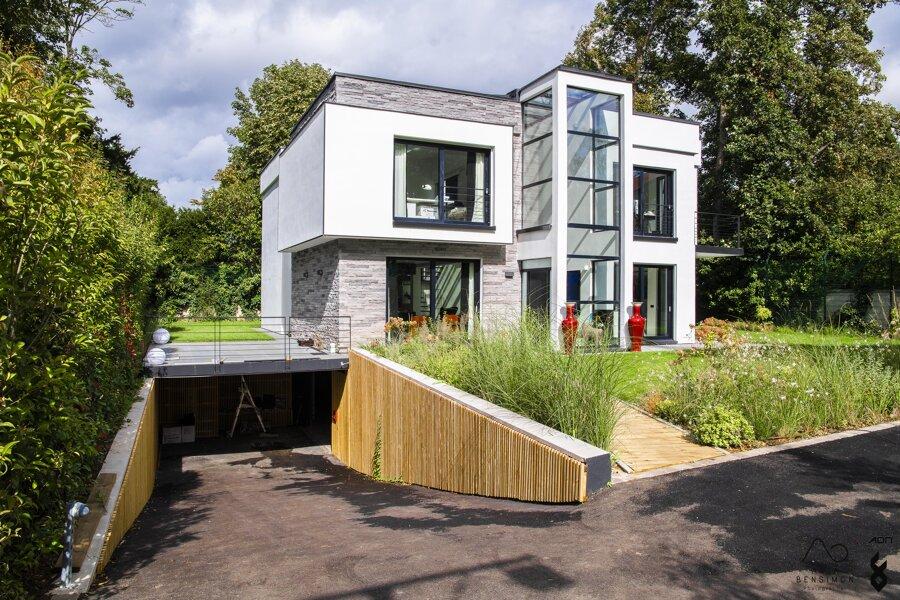 Construction d'une maison neuve, Vaucresson