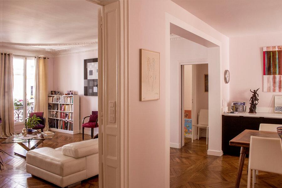 Rénovation appartement rue des Mathurins Paris