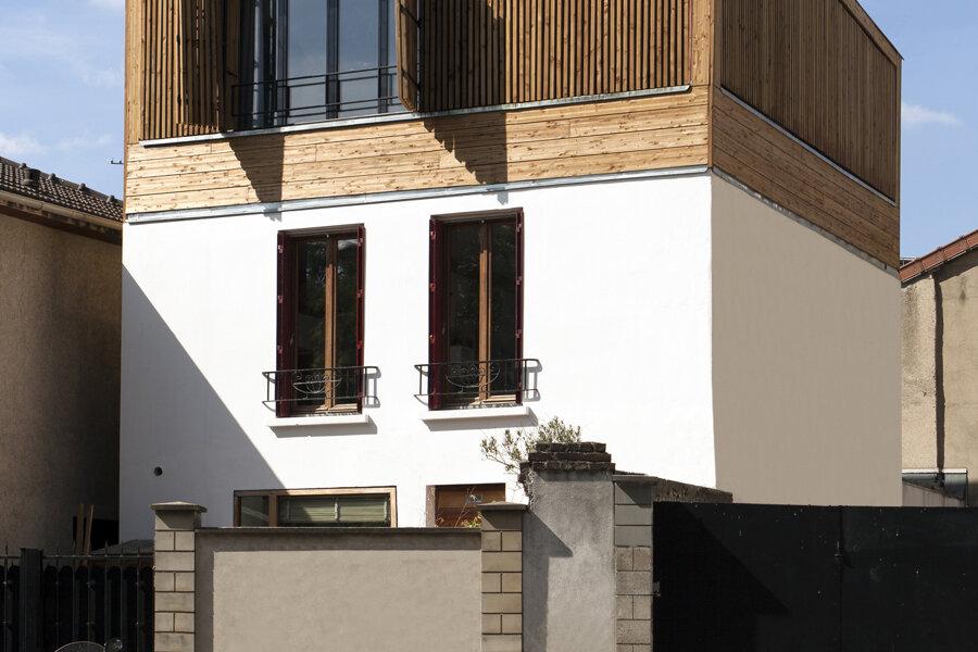 ARAGO - Surélévation d'une maison