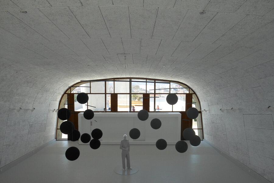 Centre d'Art Mamo, fondé par Ora-Ito - Gymnase Le Corbusier, Cité Radieuse, Marseille