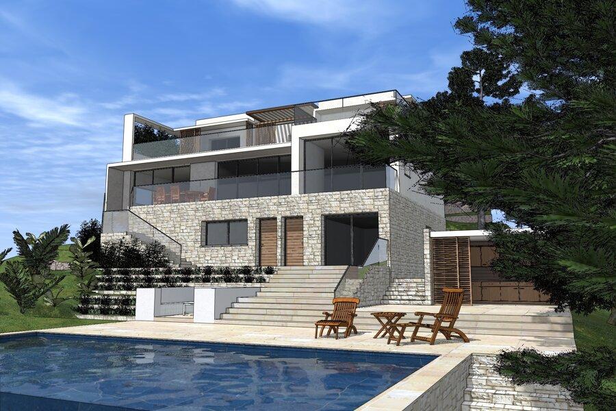 Permis de Construire - Villa contemporaine