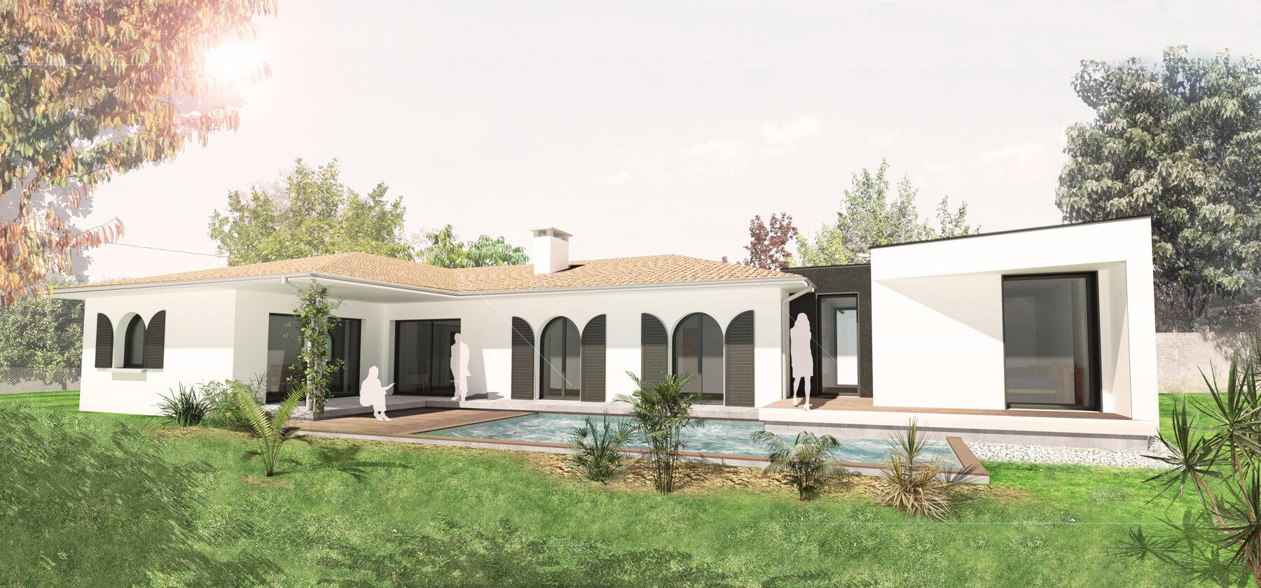 Rénovation et extension d'une maison