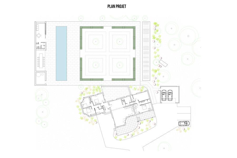 TRD - Construction d'un pool house