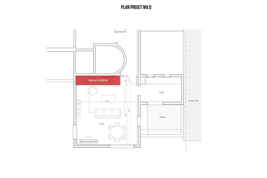 EXT - Surélévation d'un appartement