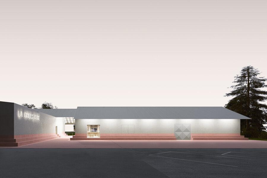 LA BRIQUETERIE - Construction d'un centre socio-culturel et sportif, Dizy (51), concours lauréat, livraison 2021