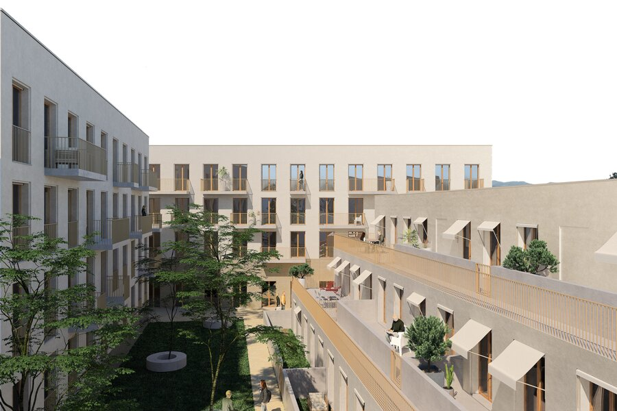 LA POCHE DU JARD - 80 logements + activités & commerces