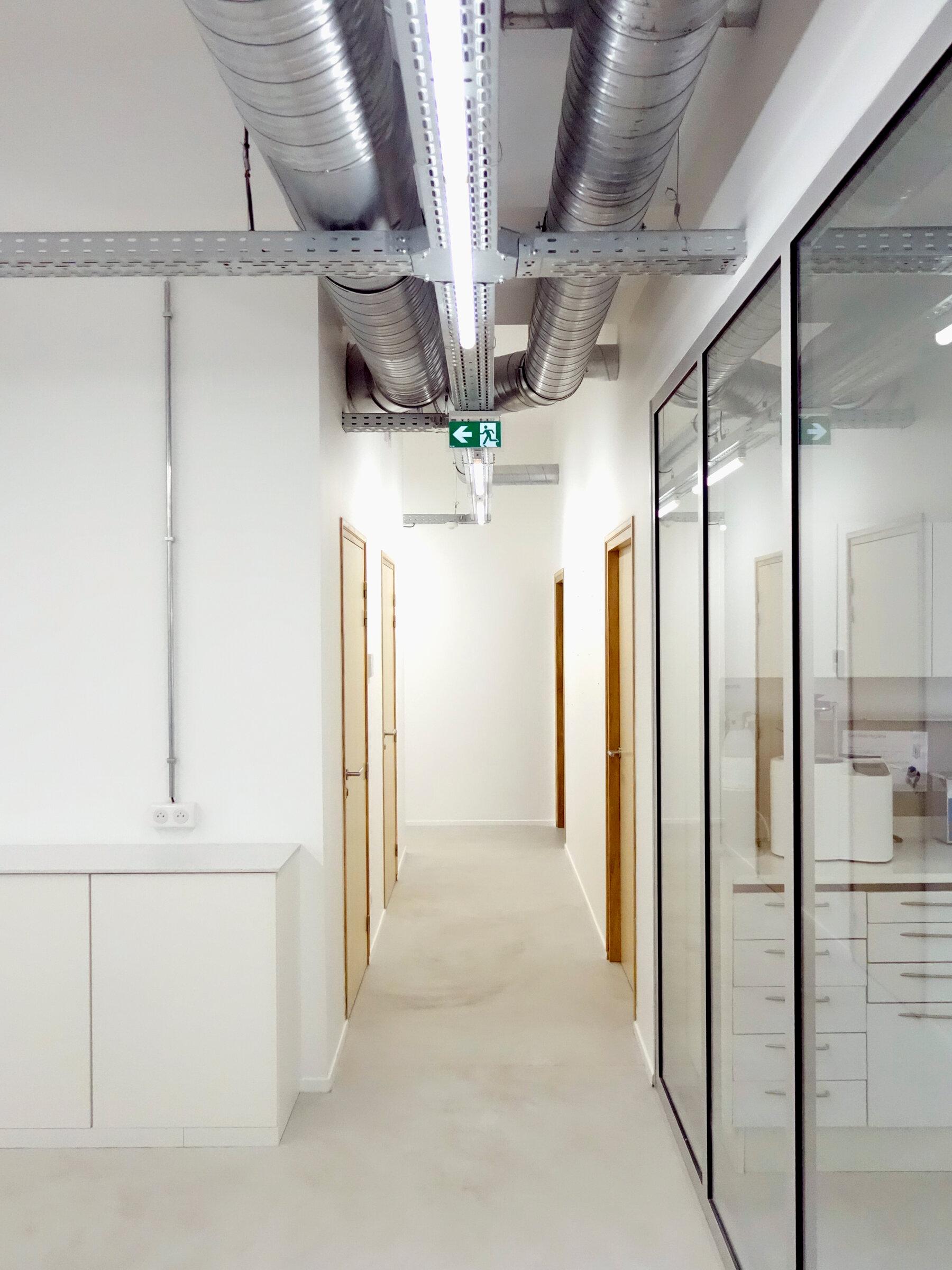 ESPACES PARTAGÉS - Rénovation et agrandissement d'un centre dentaire, Epernay (51)