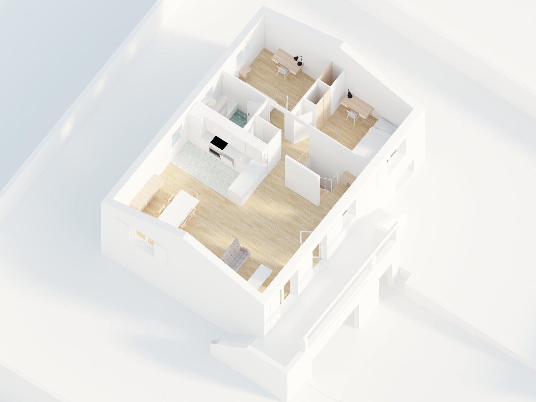MAISON LUYNES - Rénovation d'une maison individuelle