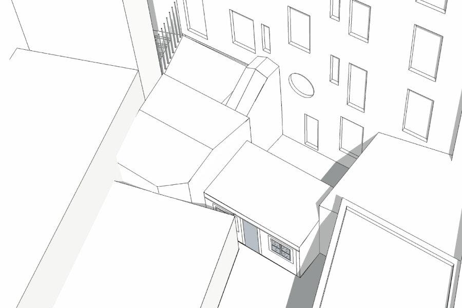 S92 - extension et réaménagement duplex - bois colombes