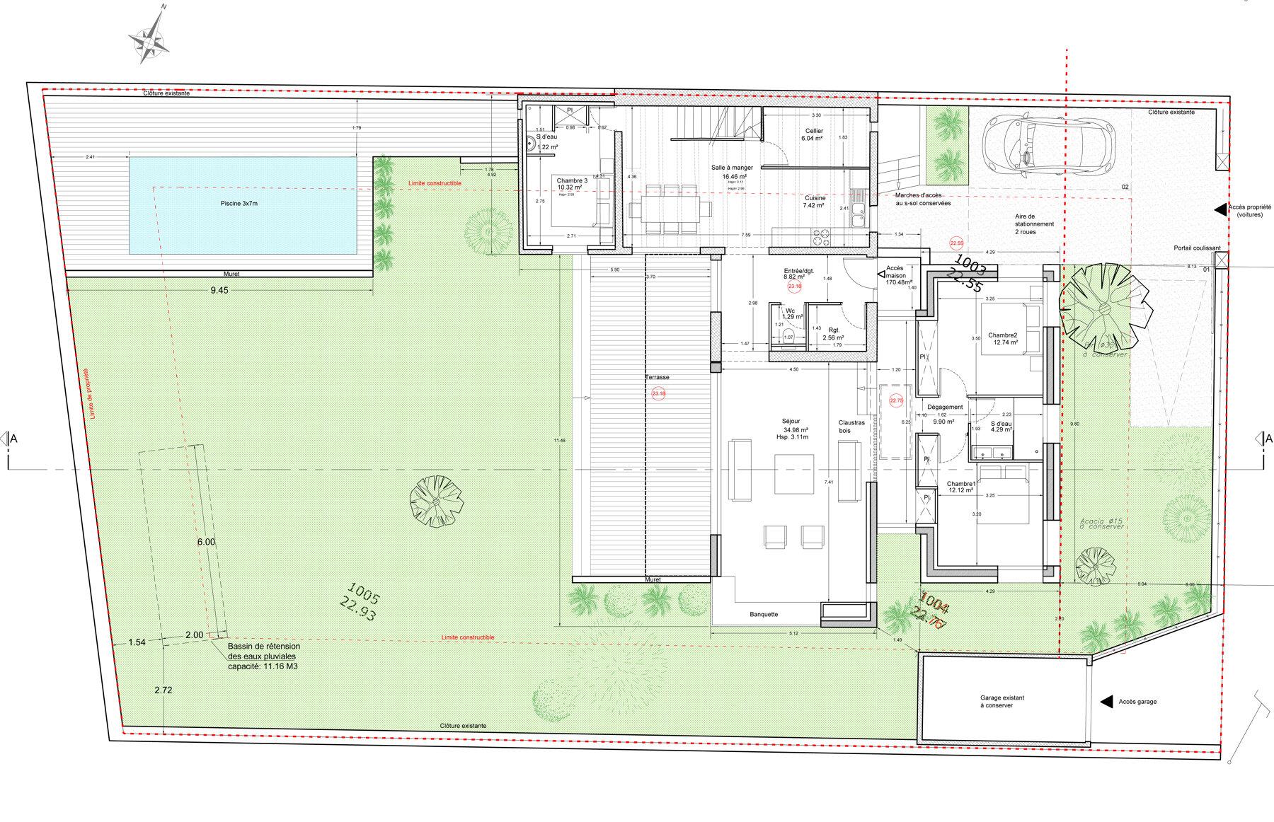 Extension d'une maison à la Pointe Rouge