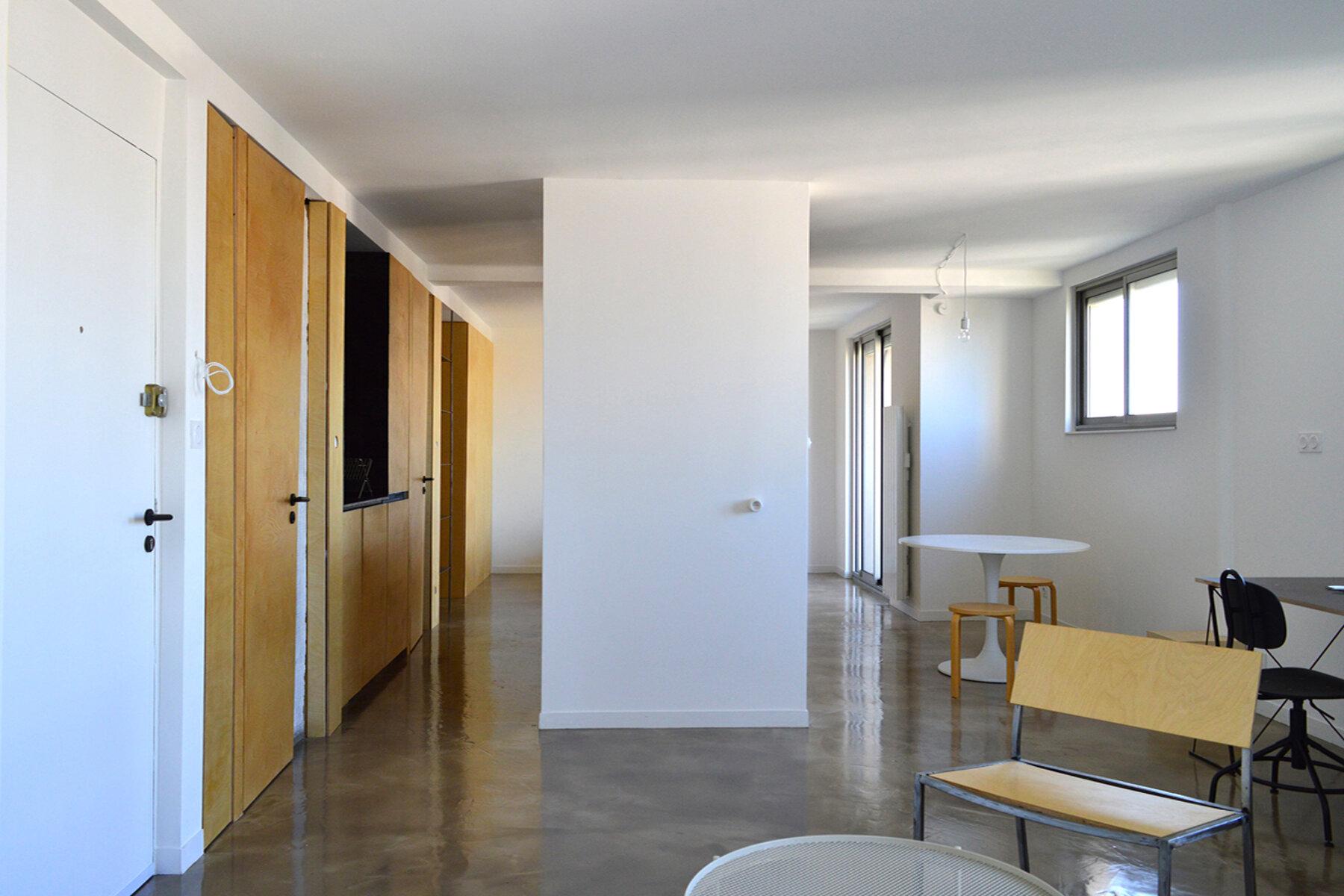 Réhabilitation d'un appartement av de la Gloire