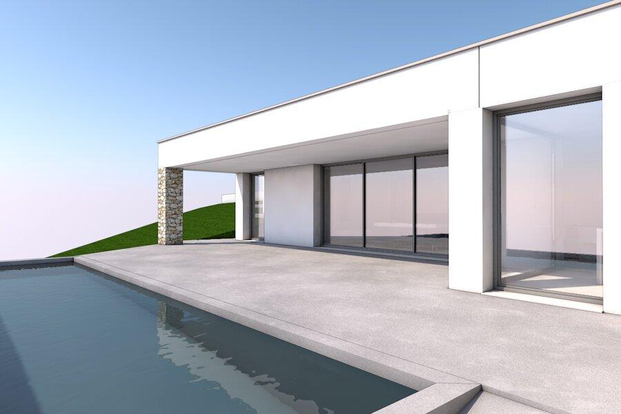 Projet Construction d'une maison individuelle sur un terrain en pente réalisé par un architecte Archidvisor