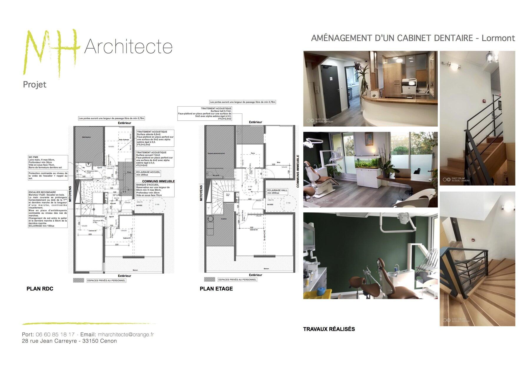 Changement de destination - Bureaux par un architecte Archidvisor