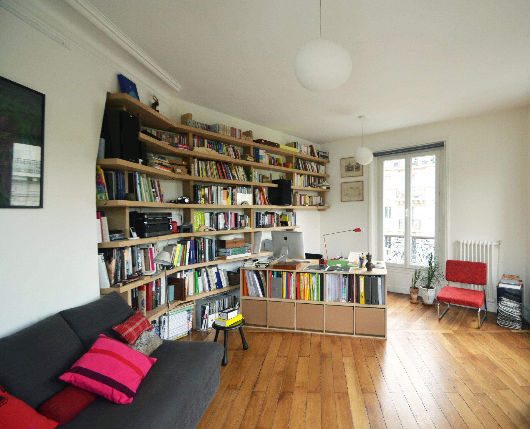 Réaménagement intérieur - Appartement par un architecte Archidvisor