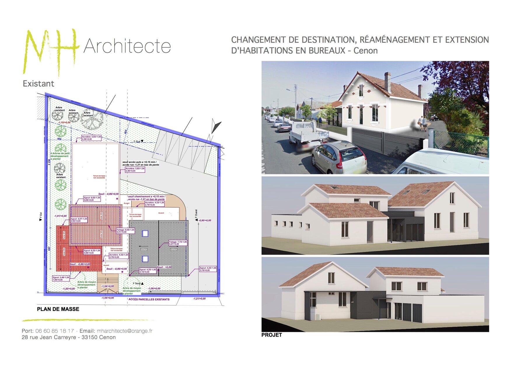 Extension - Bureaux par un architecte Archidvisor