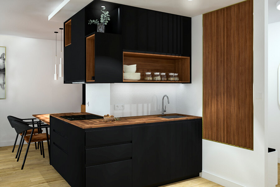 Aménagement d'un appartement VEFA