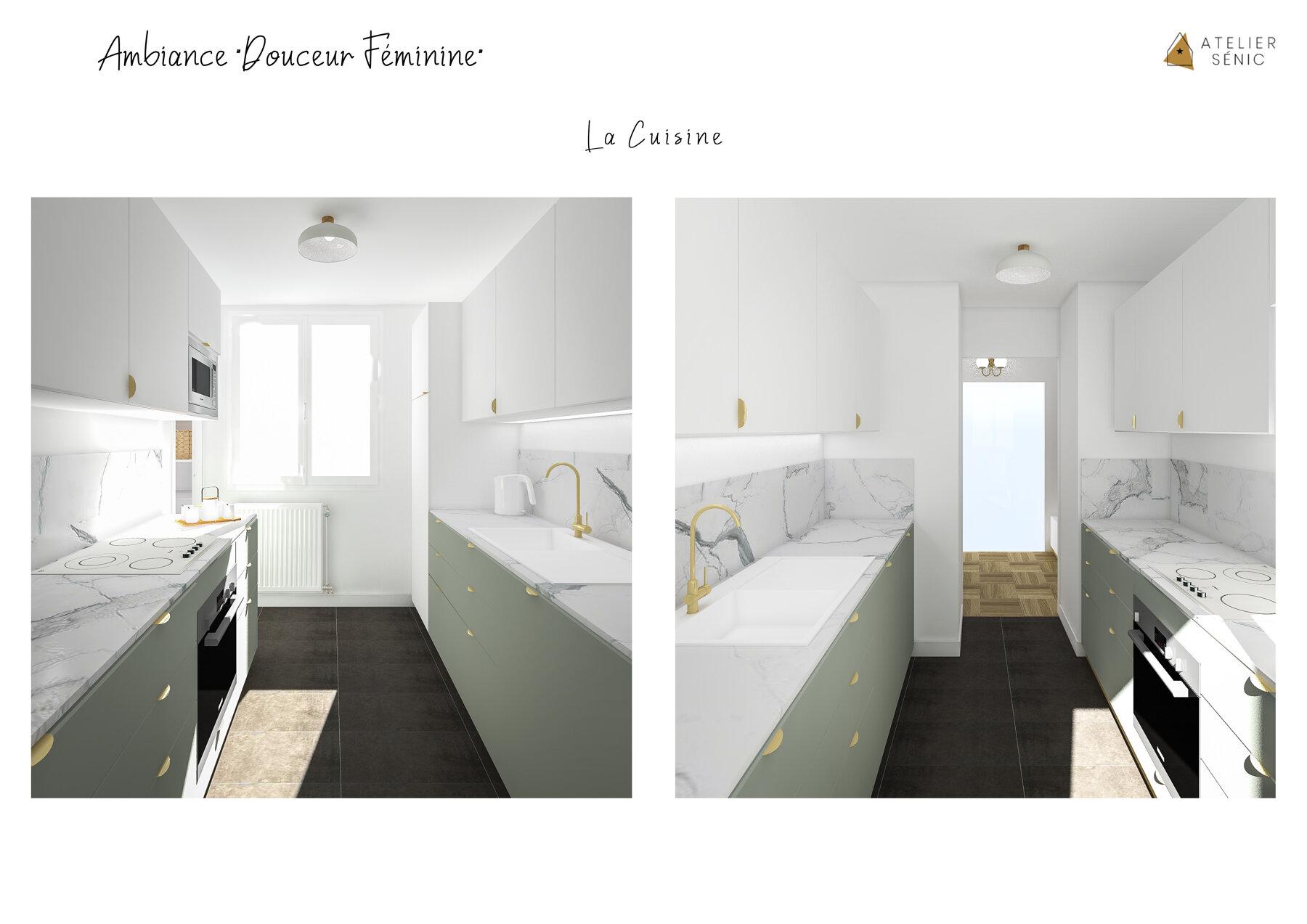Aménagement d'un appartement sur Maisons-Alfort