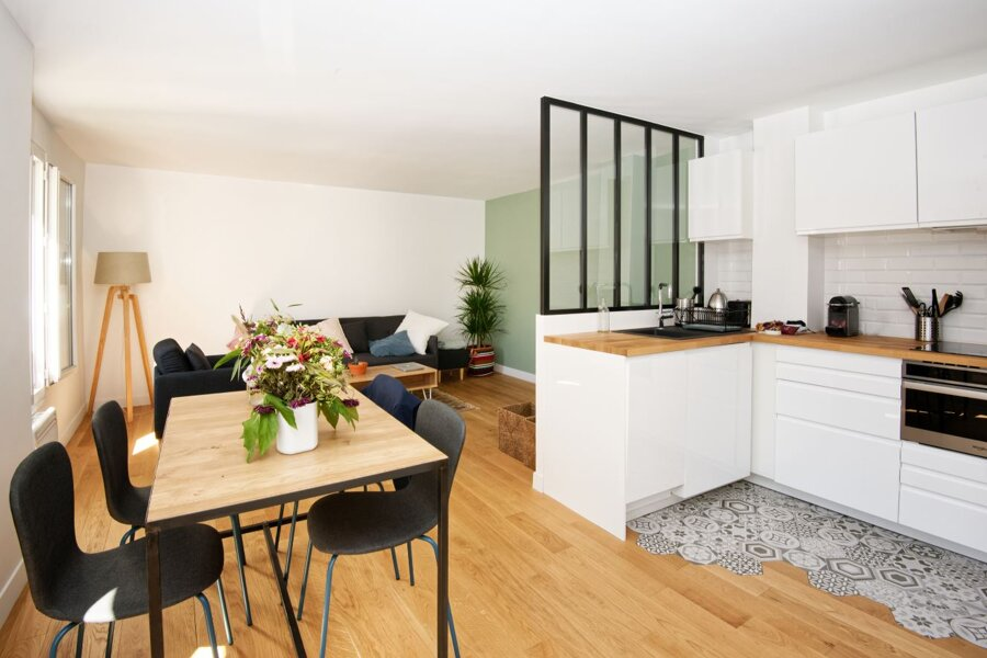 Projet SAINT-SEBASTIEN : Rénovation complète d'un 2 pièces dans Paris réalisé par un architecte Archidvisor