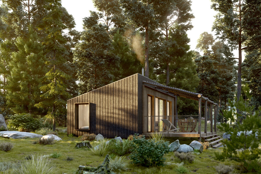 Projet HUTTOPIA - Réalisation d'une Tiny House au cœur de la forêt réalisé par un architecte Archidvisor