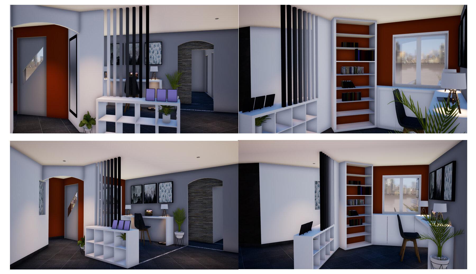 Projet V&F - Surélévation & Création de mobiliers
