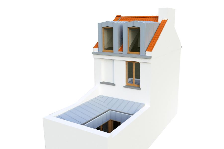 Projet Réhabilitation d'une maison 1930 réalisé par un architecte Archidvisor