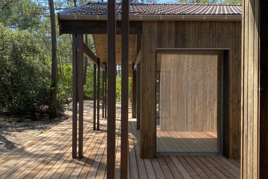 Projet Maison  à Lacanau Océan réalisé par un architecte Archidvisor