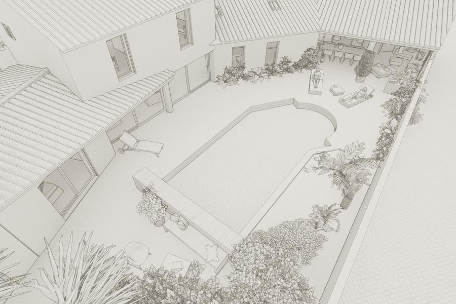 Projet Villa Ile de Ré réalisé par un architecte Archidvisor