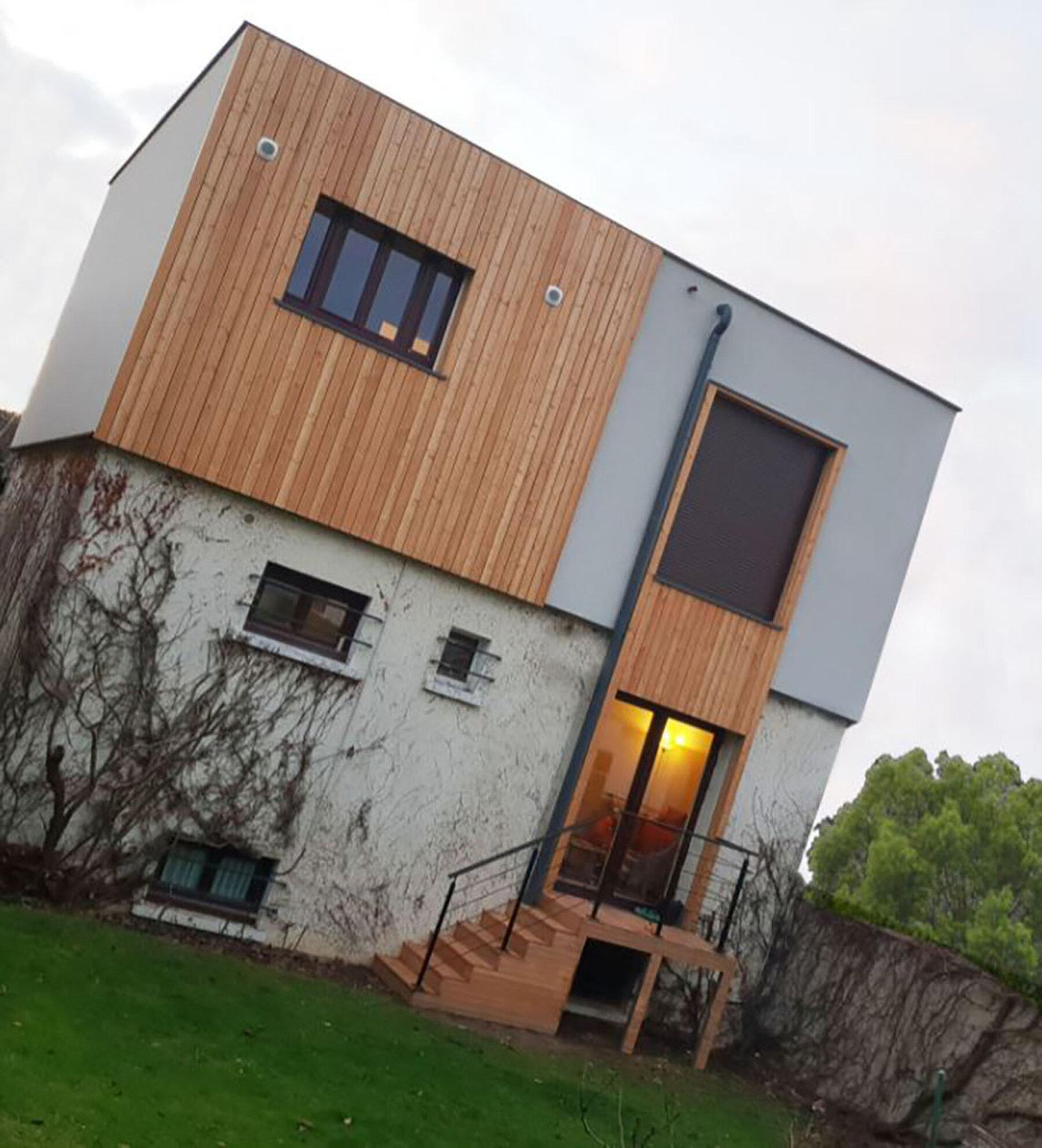 Surélévation - Maison individuelle par un architecte Archidvisor