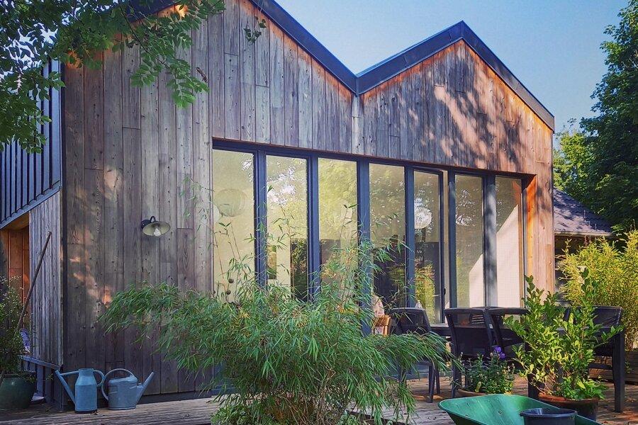 Projet EXTENSION  RENOVATION EN BOIS réalisé par un architecte Archidvisor