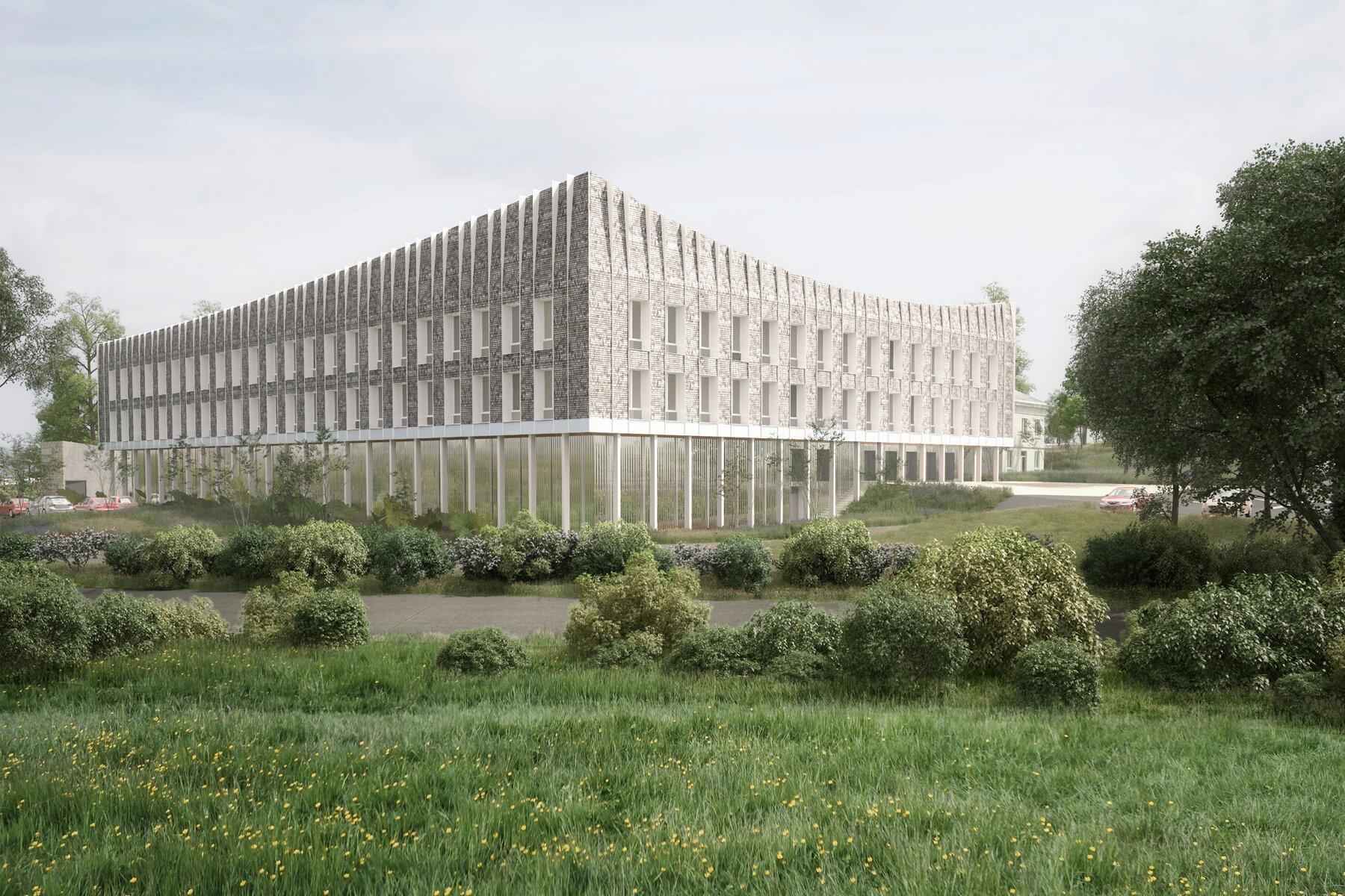 Extension - Equipement administratif par un architecte Archidvisor