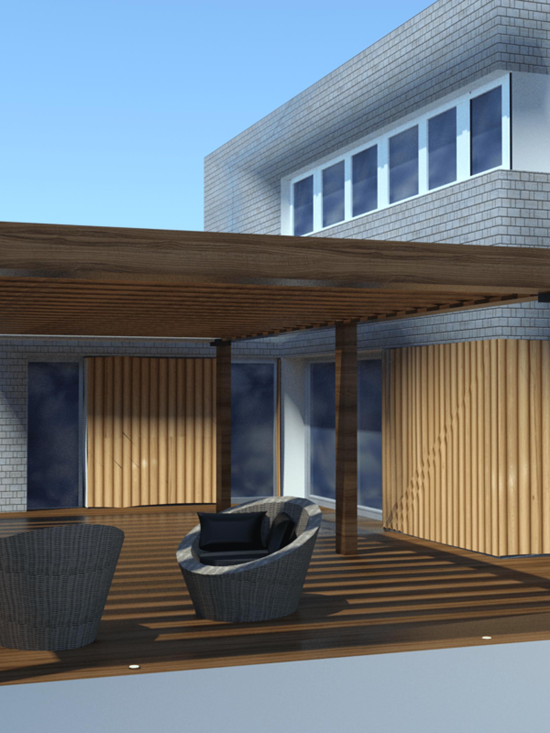 Aménagement extérieur - Maison individuelle par un architecte Archidvisor